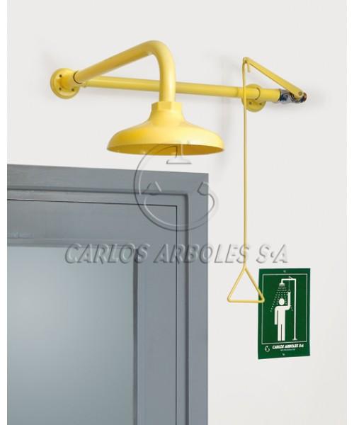 Natrysk bezpieczeństwa montowany nad drzwiami