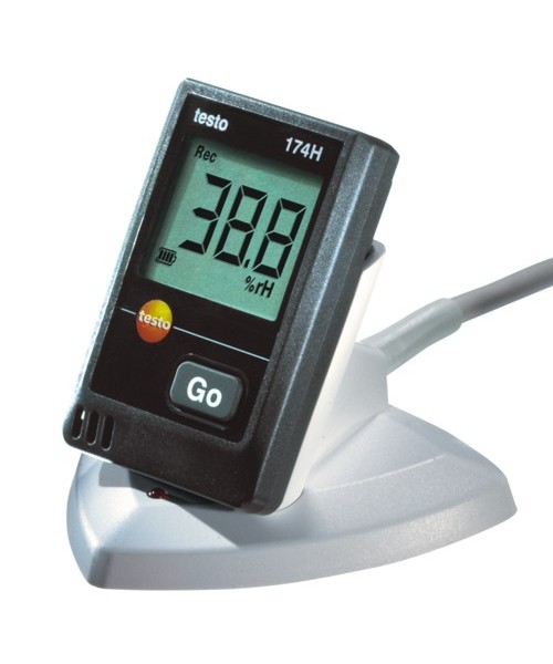 Rejestratory temperatury i wilgotności Testo 174-H