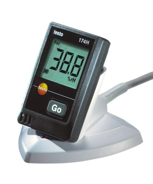Rejestrator temperatury i wilgotności Testo 174-H ze stacją dokującą