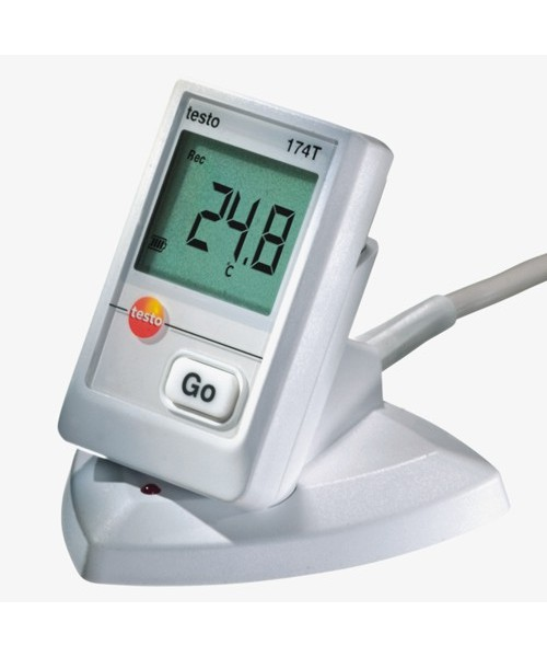 Rejestrator temperatury Testo 174-T ze stacją dokującą