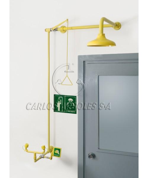 Zestawy kombinowane montowane nad drzwiami, bezodpływowe