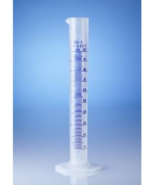Cylindry miarowe wysokie z PP, klasa B