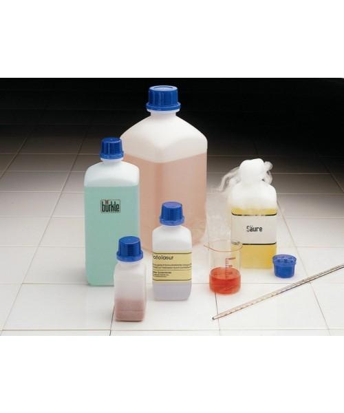 Butelki kwadratowe z HDPE, z jednorazową plombą