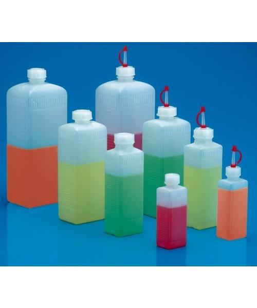 Butelki czterokątne z HDPE
