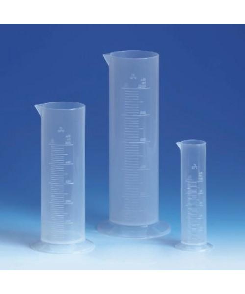 Cylindry miarowe niskie z PP, klasa B