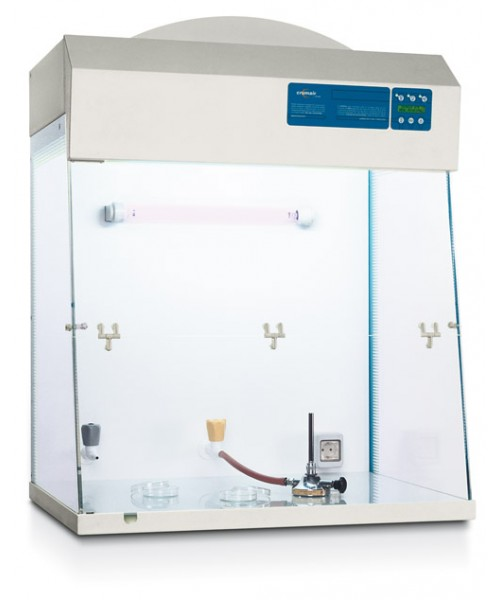 Komory laminarne CRUMA FL z filtrem HEPA H14