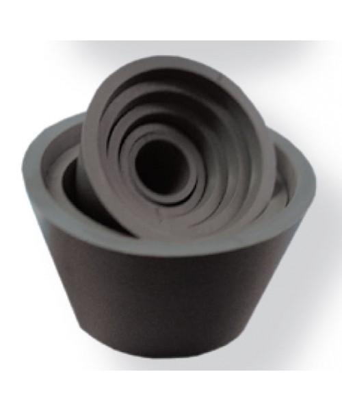 Pierścienie gumowe tygiel-kolba