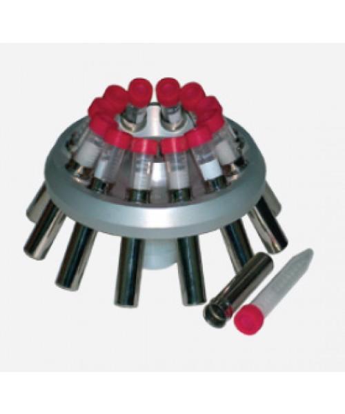Wirnik kątowy 30°; 36x 15/10 ml z pojemnikami, max. 4500 obr/min; 3 011 rcf