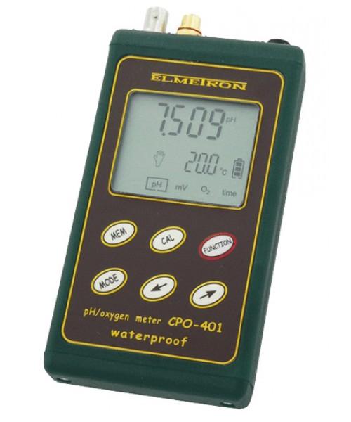 pH / tlenomierz przenośny CPO-401