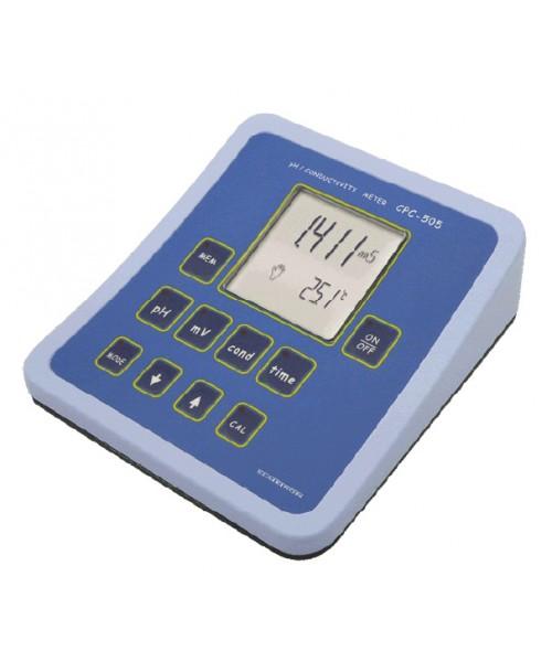 pH / konduktometr / solomierz laboratoryjny CPC-505