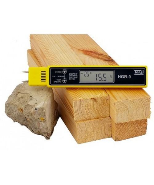 Wilgotnościomierz do drewna i betonu  HGR-9