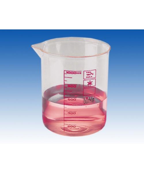 Zlewki laboratoryjne z PMP, skala czerwona