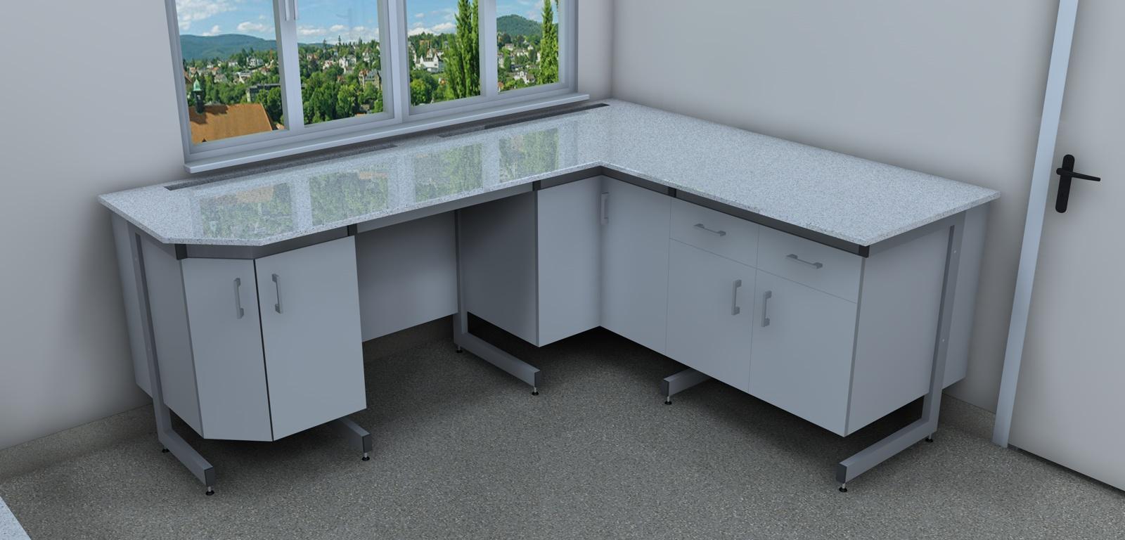 Stół przyścienny mały